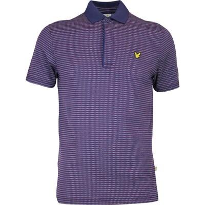 Lyle Scott Golf Shirt Greenlaw Navy AW16