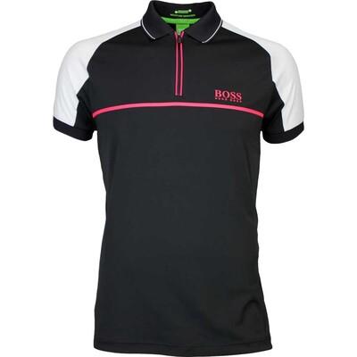 Hugo Boss Golf Shirt Prek Pro Black FA16