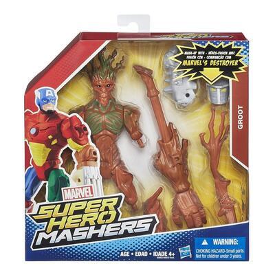Marvel Avengers Hero Mashers Groot Action Figure
