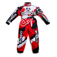 Chaos Kids Off Road Racing Suit Red