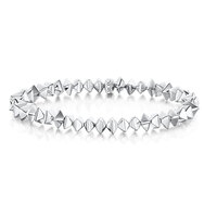 ROX Identity Silver Bracelet