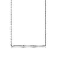 ROX Bamboo Silver Pendant