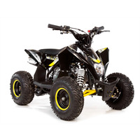Image of FunBikes 70cc T-Max Yellow Kids Quad Bike