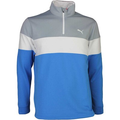 Puma Golf Pullover PWRWARM Popover French Blue SS17