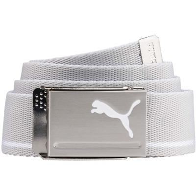 Puma Golf Belt Reversible Web Quarry White AW18