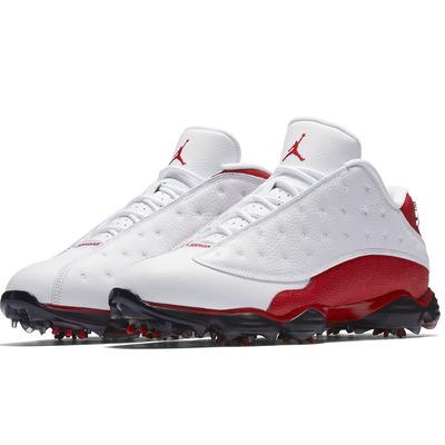 Nike Golf Shoes Air Jordan 13 White University Red 2017