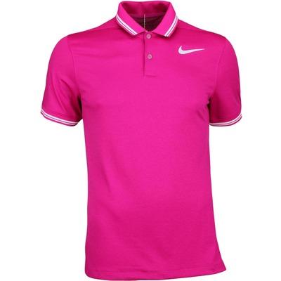 Nike Golf Shirt NK Dry Tipped Sport Fuchsia SS17
