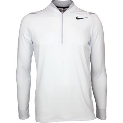 Nike Golf Pullover Aeroreact Half Zip White Wolf Grey SS17