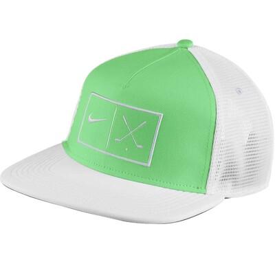 Nike Golf Cap NK Aerobill True Snapback Electro Green SS17