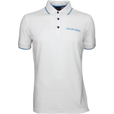 Galvin Green Golf Shirt MILLER Tour Ventil8 White SS17