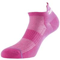 1000 Mile Tactel Trainer Liner Ladies Running Socks - Pink, UK 3 - 5.5