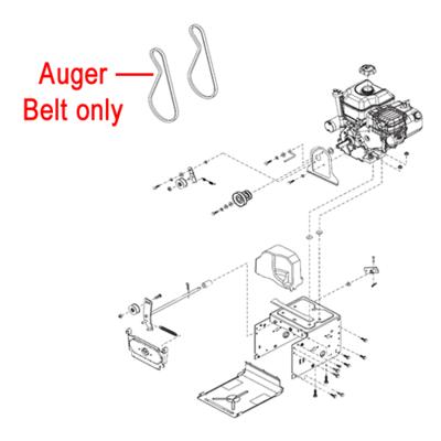 Stiga Stiga 1812-2784-01 Drive Belt Auger for the Stiga Snow Fox