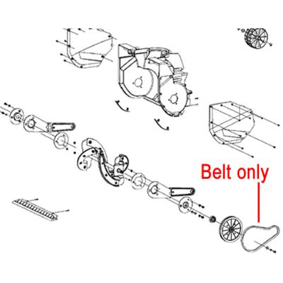 Stiga Stiga 1811-2639-01 Belt for the Stiga Snow Electric