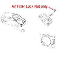Image of Mitox Chainsaw Air Filter Lock Nut MIYD45-3.05.01-00