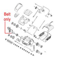 Mountfield MSR38 Scarifier Drive Belt 118802681/0