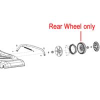 Cobra Lawnmower Rear Wheel 25400202003