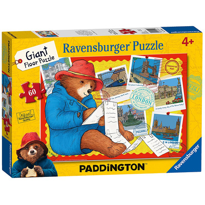 Ravensburger Paddington Bear, 60pc Giant Floor Jigsaw Puzzle