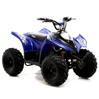 Image of FunBikes Tino Rally 750w Blue Electric Kids Quad Bike