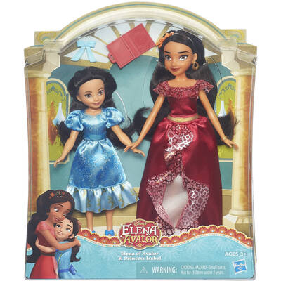 Disney Princess Elena Of Avalor And Isabel Doll (Pack Of 2)