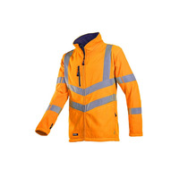 Mowett 712 High Vis Orange Fleece Jacket