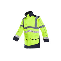 Image of Corroy High Vis Yellow Rain Jacket