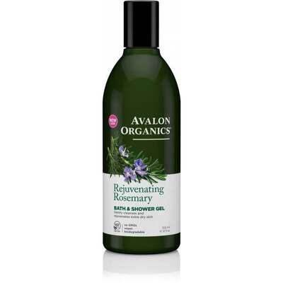 Avalon Organics Rosemary Bath and Shower Gel 350ml