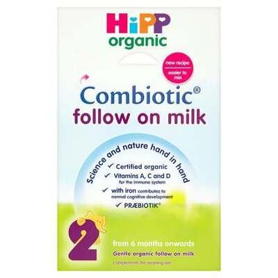 Hipp Organic Follow on Milk Stage 2 800g