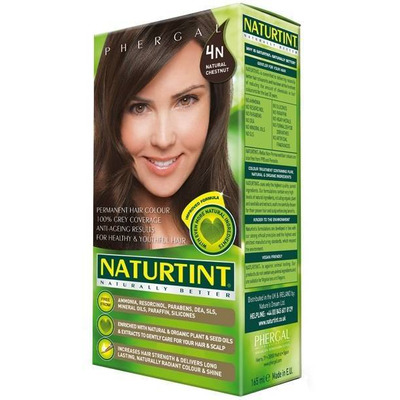 Naturtint Permanent Natural Hair Colour 4N Natural Chestnut 170ml