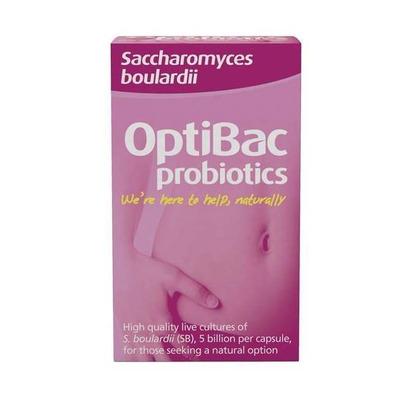 Optibac Probiotics Saccharomyces Boulardii 40 Capsules