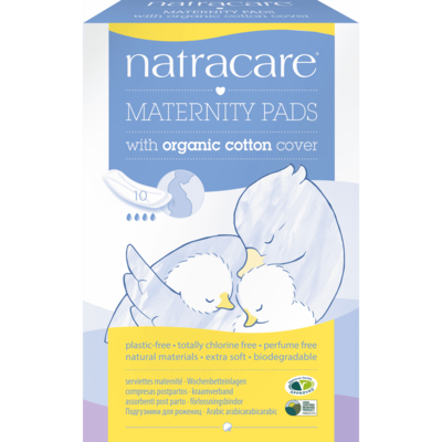 Natracare Maternity Pads - Pack of 10