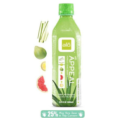 Alo Appeal - Aloe Vera, Pomelo, Pink Grapefruit & Lemon Juice 500ml