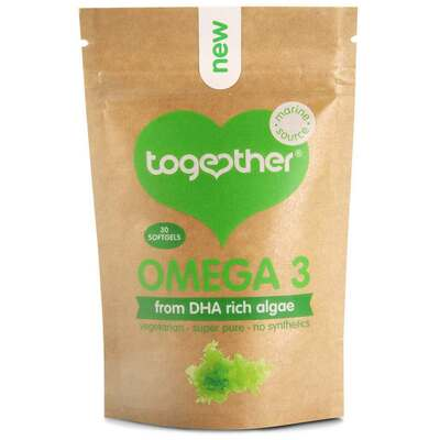 Together Algae DHA Omega 3 - 30 Softgels