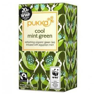 Pukka Organic Cool Mint Green Tea 20 Sachets