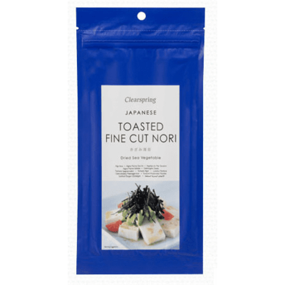 Clearspring Japanese Toasted Fine Cut Nori 10g