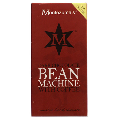 Montezumas Dark Chocolate Bean Machine Bar 100g