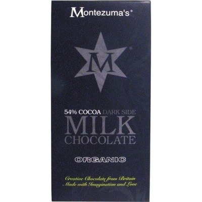 Montezuma's Organic Cocoa Dark Side Chocolate Bar 100g