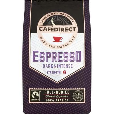 Cafedirect Espresso Roast & Ground Coffee 227g