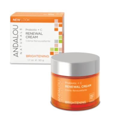 Andalou Naturals Probiotic + C Renewal Cream 50ml