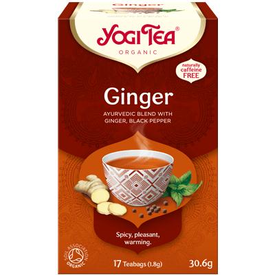 Yogi Tea Ginger Organic Tea 17 Bags