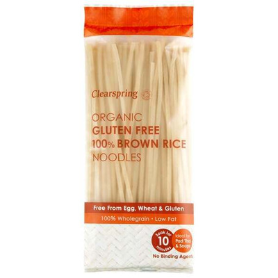 Clearspring Organic Gluten Free 100% Brown Rice Noodles 200g