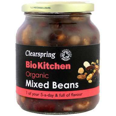 Clearspring Bio Kitchen Organic Mixed Beans 350g