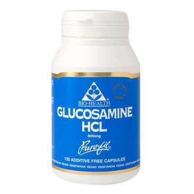 Bio Health Glucosamine HCL 120 Capsules