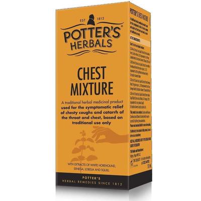Potter's Herbals Chest Mixture 150ml
