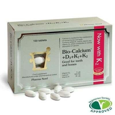 Pharma Nord Bio-Calcium & D3 & K 150 Tablets