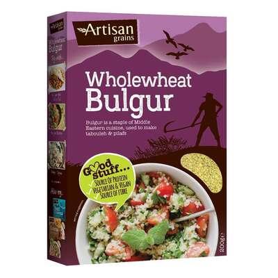 Artisan Grains Wholewheat Bulgur 200g