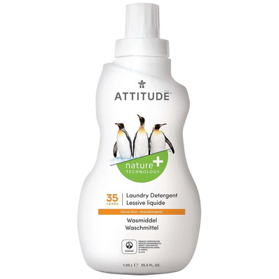 Attitude Citrus Zest Laundry Liquid 1050ml