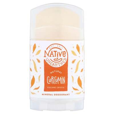 Native Unearthed Crystal Deodorant with Raw Curcuma Root 100g