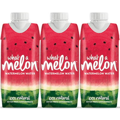 What a Melon Watermelon Water 330ml - Pack of 3