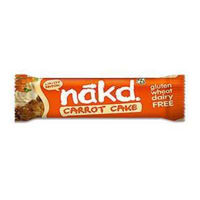 Nakd Carrot Cake Bar 35g - Pack of 18
