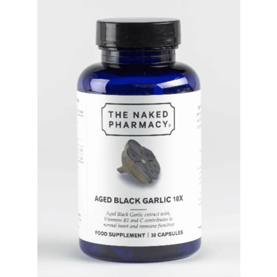 The Naked Pharmacy Aged Black Garlic 10X 30 Capsules